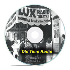 LUX RADIO THEATER, 1,369 Old Time Radio Episodes, OTR FULL RUN ON 2 mp3 DVDs G52