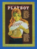 1995 Playboy Chromium Series 1 #36 Sep 1969 Vol.16 No. 9 Student Power MINT