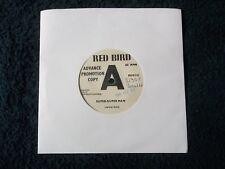 """Rare Promo, JIMMIE CROSS - SUPER-DUPER MAN / HEY LITTLE GIRL, UK 7"""" Vinyl 1966"""