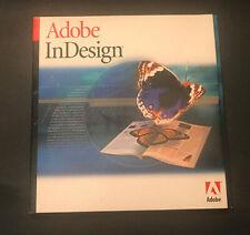 ADOBE INDESIGN 1.0 — THE ORIGINAL -- VINTAGE MAC — FULL VERSION DISK