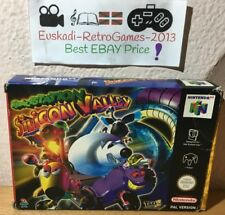 """Nintendo 64 N64  """"SpaceStation Silicon Valley"""" (COMPLETO) PAL"""