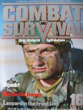 Combat and Survival Monthly Military & War Magazines