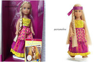 "American Girl Special Edition 6"" MINI JULIE DOLL~BOOK~New Hippie Maxi Dress"