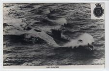 "HMS ""EXPLORER"": Naval submarine plain back postcard (C16570)"