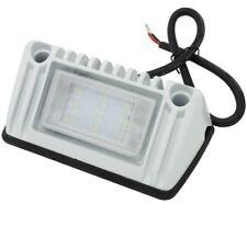 RV LED Porch Light 720 LM rectangle clear lens camper RV trailer white exterior