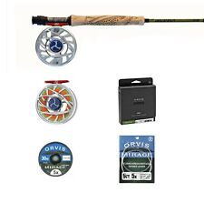 LIMITED EDITION ORVIS HELIOS 3F 905-4 w/ MIRAGE SL REEL Artist Series OUTFIT