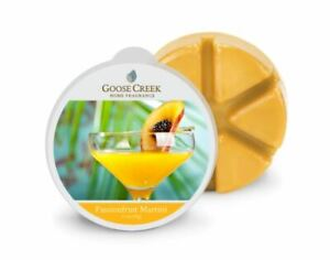 Goose Creek Candle - Wax Cube Melts Passionfruit Martini SCENT 2.1 oz NEW PACK