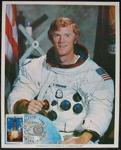 s1452) Raumfahrt Apollo 9 Astronaut Russell L. Schweickart  NASA Photo Autograph
