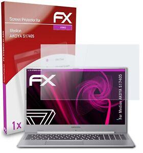 atFoliX Glass Protector for Medion AKOYA S17405 9H Hybrid-Glass