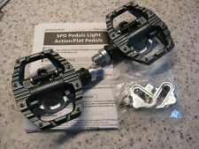 Shimano PD-EH500 SPD Pedals and flat Immaculate condition