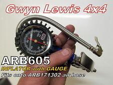 ARB 605 Tyre Inflator with Gauge tyre pressure air gauge Gwyn Lewis 4x4 maxxis