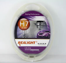 H7 Super Bright White HID Look Xenon Halogen Headlights Globes Bulbs 24V 100W