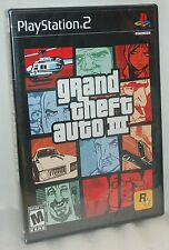 SEALED NEW PlayStation 2 Grand Theft Auto III Video Game PS2 Mafioso GTA 3