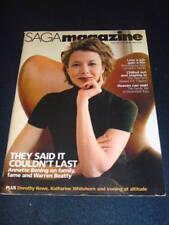 SAGA - ANNETTE BENING - March 2004