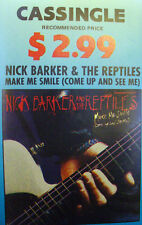 NICK BARKER TAPE SINGLE MAKE ME SMILE FREE POSTAGE IN AUSTRALIA