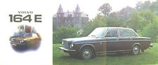 Volvo 164 E 1973-74 Original UK Sales Brochure Pub. No. RSP/PV 1034-74