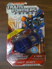 Transformers Prime RID Hot Shot Autobot NEW FREE SHIP