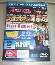 5 Disc Comedy Collection - Cannes Man, Bad Trip - NEW / SEALED - ALL PAL