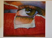 Fritz Köthe 80er Jahre Kunst-Postkarte, Pop Art, verschiedene Motive (8) - Neu
