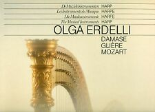 Olga Erdelli - les Instruments de Musique Harpe - Damse - Gliere - Mozart LP