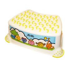 Mr Men & Little Miss Step Stool With Non Slip Feet