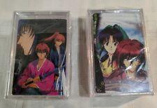 Two Decks Rurouni Kenshin Playing Cards New Sealed