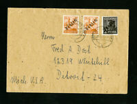 Germany Cover w/ Stamps Allied Occupation w/Berlin Ovpts