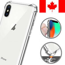 SHOCKPROOF CLEAR TRANSPARENT SOFT CASE COVER FOR APPLE IPHONE XS MAX