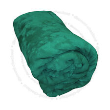 Teal doble tamaño 200x240cm Throw Mink Faux Fur Lujo Sofá Manta Cama ukdc