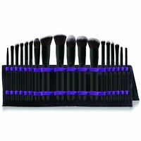 Professional Makeup Cosmetic Brushes Set with Organizer Travel Pouch (16-Piece)