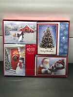 American Greetings Christmas Cards 4 Designs 10 Each 40 Cards Santa Clause