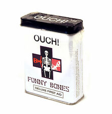 Funny Bones - first aid in a tin - plasters / band aids