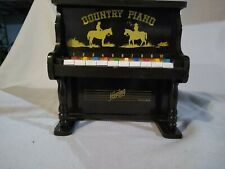 Vintage Children's Country Piano Music Toy - Hering - Made in Brazil, Plays!