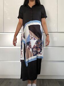 Brand new Stylish Dress Silky Feel Size S