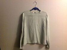 Rena Rowan ladies sz 14 silk pullover long sleeved blouse