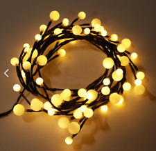 Outdoor LED Holiday String Light Chain Waterproof Decor Fairy Lights Bulb Party