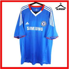Adidas Chelsea Football Shirt XXL 2XL Blue Home Soccer Jersey ClimaCool 2010