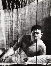 1960's Vintage Surreal SEMI NUDE ASIAN MALE Japan Photo Art 16x20 ~ TAMOTSU YATO