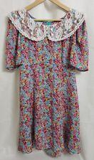 New listing Gunne Sax Jessica McClintock 1980s size 3/4 Floral Prairie Lace Collar Dress
