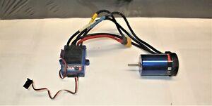 Traxxas 2 Pole VXL-3s ESC & Velineon 3500 Brushless Motor Stampede Rustler vxl