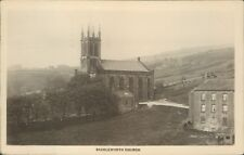 More details for real photo; saddleworth church; allen & sons