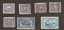 Canada POSTAGE DUE AIR MAIL DEFINITIVE