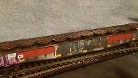 HO GONDOLA CAR RH ATHERAN ATLAS WALTHERS INTERMOUNTAIN EXACTRAIL.LOAD WEATHERED