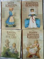 Lot of 4 American Girls Collection Doll Books,  1,3,4,5 Kristen 1854 #S-1