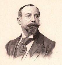 Portrait Léon-François Comerre Trélon Nord Peintre Sculpteur Orientalisme