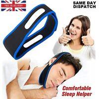 Snore Anti Snoring Strap Stop Chin Belt Sleep Apnea Jaw Solution Support Aid