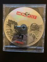 Trivial Pursuit (1995) & Monopoly (1997) PC CD-ROM Windows 95 Game