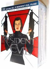 The Resident Evil Collection 1, 2, 3, 4 & 5 - Blu-ray 5-Movie Boxed BRAND NEW
