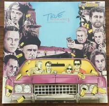 True Romance OST LP [Vinyl New] Ltd /686 Alabama Variant Clear Aqua/Pink Splat