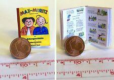 Puppenhaus Puppenstube M 1zu12 1013# Miniaturbuch Hasenschule Kinderbuch